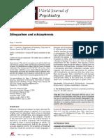 Bilingualism and Schizophrenia