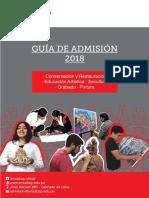 Guía Examen de Admisión Ensabap 2018