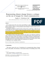 Visual Represantation Communicating Climate Change