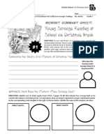 christmas carol - stave 2 - during-reading summary sheets - effect of memories on scrooge with emoji sketches  pdf
