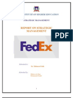 Fedex- The Strategic Audit