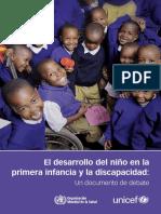 6.- El Desarrollo Del Niño en La Aprimera Infancia y La Discapacidad
