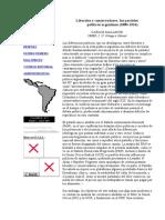 Malamud Carlos_Liberales y Conservadores,Los Partidos Políticos Argentinos (1880-1916)