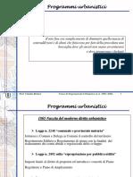 1.2 Programmi Urbanistici
