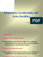 Elementos Accidentales Del Negocio Juridico 1