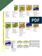 Calendario Academico - 2017
