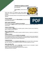 Beneficios de La Carambola o Melocotón y El Laurep Para La Diabetes y El Colesterol