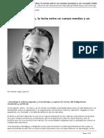 ARGUEDAS Cuerpo Mestizo y Corazon Indio. Vega Cantor