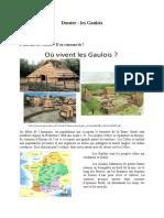 Dossier Final Les Gaulois