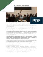 Asamblea Nacional Elige Nueva Junta Directiva