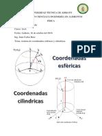 Coordenadas Cilindricas y Esfericas 12