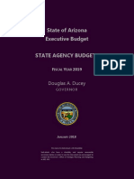 Arizona Gov. Doug Ducey Executive Budget 2018