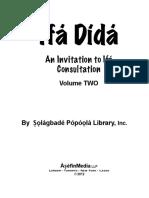 Ifa Didaa Ogbe