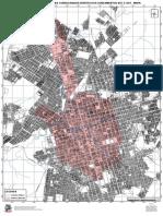 Anexo 01 - Regiao de Estudo - Areas Consolidadas Nos Zoneamentos Auc e Aut - Mapa