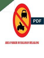 Area Parkir Di Halaman Belakang