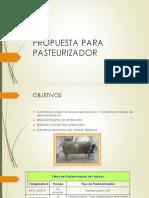 Propuesta Para Pasteurizador