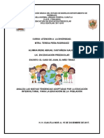 Escrio Analisis Juan Elniño Triqui, Irene Abigail Castañeda Galicia