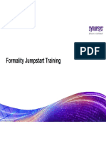 Formality Jumpstart Training