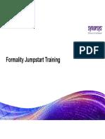 Formality Jumpstart Training