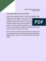 1.3 Los Derechos Humanos Frente Al Servicio Público