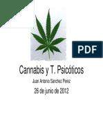 Cannabis y Trastornos Psicxticos