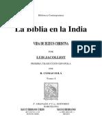 Jacolliot Luis - La Biblia En La India.pdf