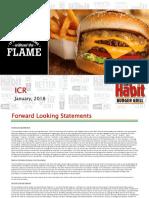 HABT Habit Restaurants_ICR Presentation 2018