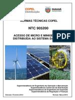 NTC 905200 Acesso de Micro e Minigeração Distribuída