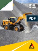 LG959 LG958L Wheel Loader Brochure
