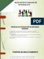 Modelos Estructurales de Integración