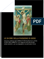 Le 24 Ore Di Passione Di Gesù