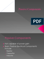 Presentation Passive Components