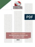 Regimento Interno da Defensoria Pública do Estado do Pará