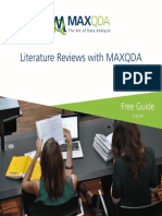 Literature Reviews With MAXQDA