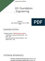 1 - Foundation Engineering Introduction