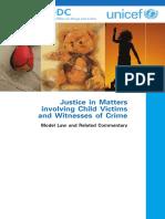 UNDOC-UNICEF Model Law on Children