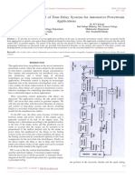 Developments in Control of Time-Delay Systems for Automotive Powertrain Applications