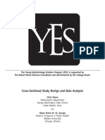 Cross Sectional Study Design