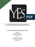 Cross Sectional Study Design