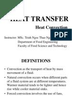 HEAT TRANSFER - Convection - Handout