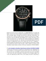 TAG Heuer Grand Carrera Calibre 6 RS Reloj Automático WAV511C.ba0900 Revision Replica