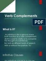 Verb Complements