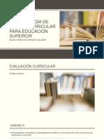 Metodología de Diseño Curricular Para Educación Superior