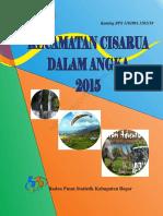 Kecamatan Cisarua Dalam Angka 2015