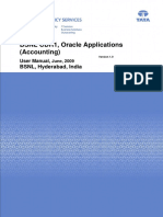 User Manual Oracle Accounting
