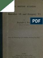 Poole - Benedict IX and Gregory VI
