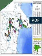 Peta Sebaran Kutim2014