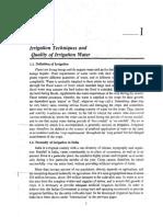 Irrigation Chapter 1 1st Class