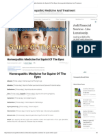 Homeopathic Medicine for Squint of the Eyes _ Homeopathic Medicine and Treatment