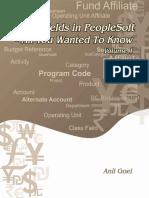 ChartFields in PeopleSoft Vol 1